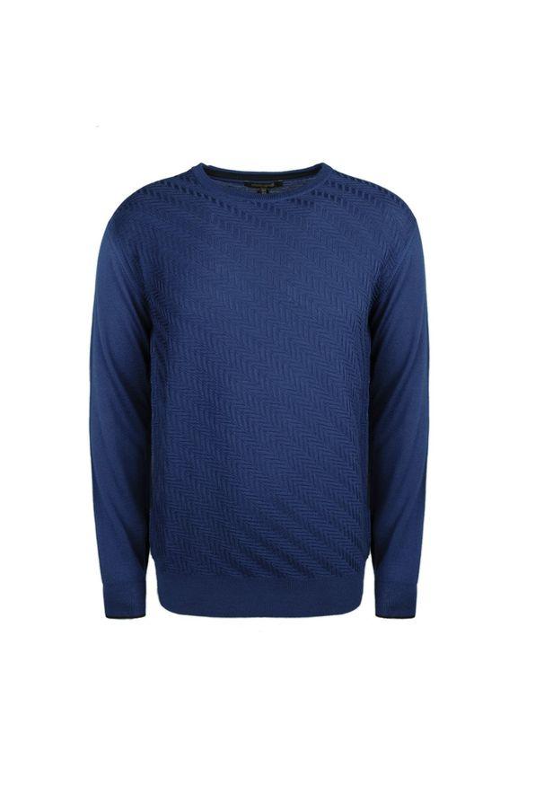 Sweter Roberto Cavalli na co dzień, casualowy