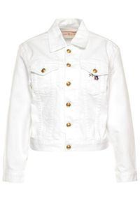 Biała kurtka jeansowa Tory Burch