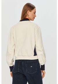 Kremowa bluza Tommy Sport z nadrukiem, sportowa