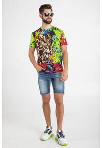 BERMUDY JEANSOWE Frankie Morello. Materiał: jeans