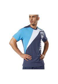 Reebok - Koszulka męska One Series Training Colourblock EC0994. Materiał: poliester. Wzór: aplikacja