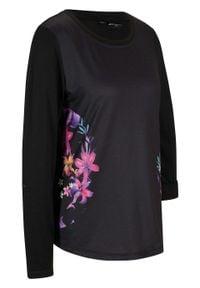 T-shirt funkcyjny Maite Kelly, długi rękaw bonprix czarny. Kolor: czarny. Długość rękawa: długi rękaw. Długość: długie
