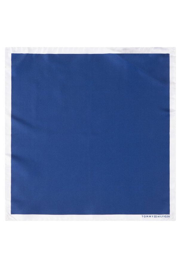 Niebieska poszetka Tommy Hilfiger Tailored