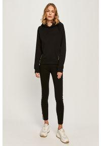Czarna bluza Karl Lagerfeld długa, z kapturem