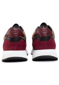 Czerwone sneakersy BOSS