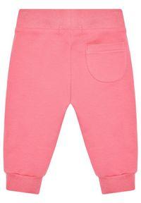 Różowe spodnie dresowe TOMMY HILFIGER
