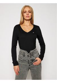 Czarna bluzka Tommy Jeans