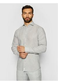 Baldessarini Koszula Henry B3 10000/000/3030 Szary Tailored Fit. Kolor: szary #1