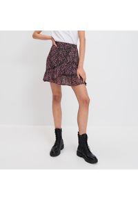 Mohito - Szyfonowa spódnica Eco Aware - Fioletowy. Kolor: fioletowy. Materiał: szyfon