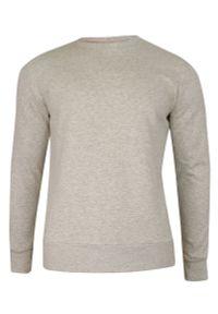 Szary sweter Brave Soul bez kaptura, klasyczny
