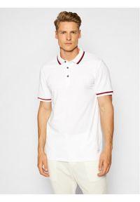 Only & Sons Polo Cilas 22013661 Biały Regular Fit. Typ kołnierza: polo. Kolor: biały