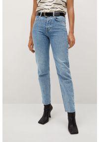 Niebieskie jeansy mango na co dzień, casualowe