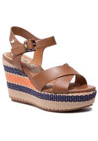 Brązowe sandały Gioseppo