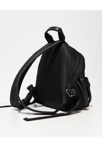 PALM ANGELS - Czarny plecak mini z logo. Kolor: czarny