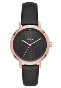 Złoty zegarek DKNY