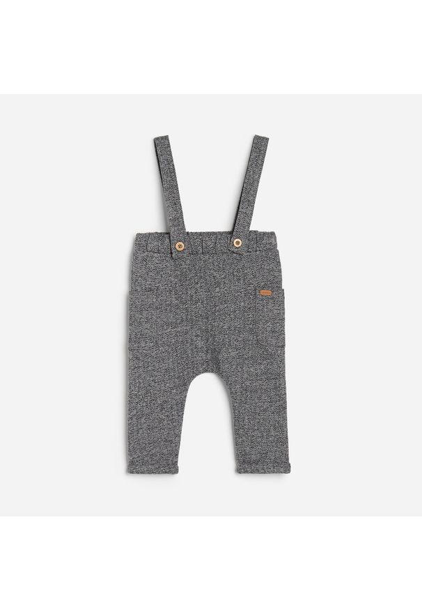 Szare spodnie Reserved melanż
