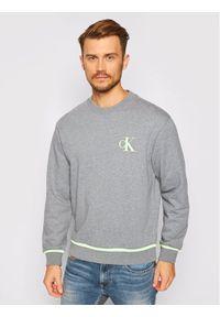 Calvin Klein Jeans Bluza J30J315597 Szary Regular Fit. Kolor: szary