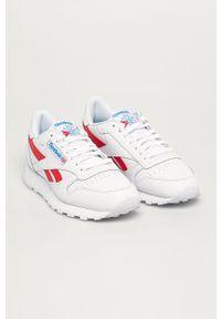 Białe sneakersy Reebok Classic Reebok Classic, z cholewką