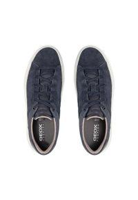 Geox Sneakersy U Deiven A U155WA 00022 C4002 Granatowy. Kolor: niebieski