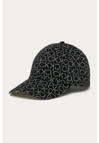 Czarna czapka z daszkiem Calvin Klein