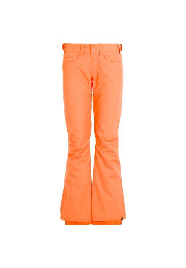 Różowe spodnie narciarskie Roxy