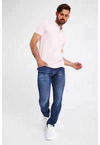 Karl Lagerfeld - POLO KARL LAGERFELD. Typ kołnierza: polo. Długość: krótkie. Styl: klasyczny