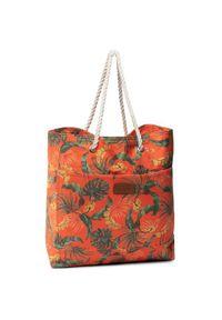 Pomarańczowa torba plażowa Banana Moon