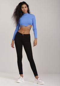 Renee - Czarne Jeansy Skinny Acatai. Kolor: czarny