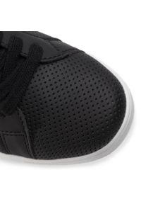 Czarne buty sportowe Trussardi Jeans z cholewką
