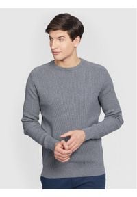 Vistula Sweter William Summer XA1112 Szary Regular Fit. Kolor: szary