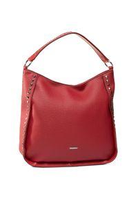 Czerwona torebka klasyczna Wittchen klasyczna