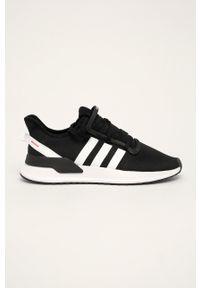 adidas Originals - Buty U Path Run. Zapięcie: sznurówki. Kolor: czarny. Materiał: guma. Sport: bieganie