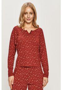 Czerwona piżama GAP długa