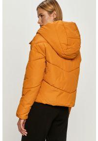 Pomarańczowa kurtka Noisy may casualowa, z kapturem, na co dzień #6