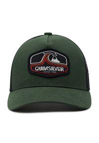 Zielona czapka z daszkiem Quiksilver