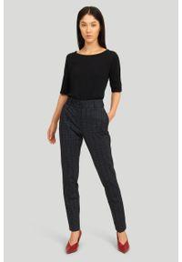 Greenpoint - Eleganckie spodnie z nadrukiem. Wzór: nadruk. Styl: elegancki