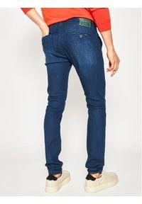 Guess Jeansy Skinny Fit M01B29 D3YK2 Granatowy Slim Fit. Kolor: niebieski. Materiał: jeans