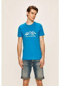 T-shirt Peak Performance z okrągłym kołnierzem, z nadrukiem