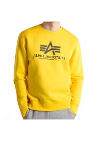 Alpha Industries - ALPHA INDUSTRIES BASIC SWEATER > 178302465. Materiał: bawełna, poliester. Wzór: nadruk