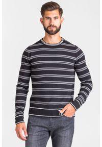 Sweter Trussardi Jeans z okrągłym kołnierzem