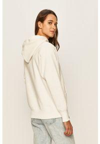 Champion - Bluza. Kolor: biały. Materiał: materiał