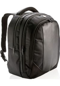 Czarny plecak na laptopa Swiss Peak