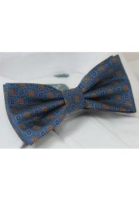 Niebieska muszka Chattier elegancka