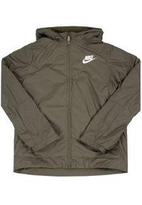 Zielona kurtka puchowa Nike