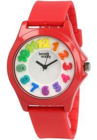 Czerwony zegarek Knock Nocky