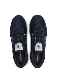 U.S. Polo Assn - Sneakersy U.S. POLO ASSN. - Nobil NOBIL4116S1/TH1 Dkbl/Red. Okazja: na co dzień. Kolor: niebieski. Materiał: skóra, skóra ekologiczna, materiał. Szerokość cholewki: normalna. Styl: sportowy, casual #6
