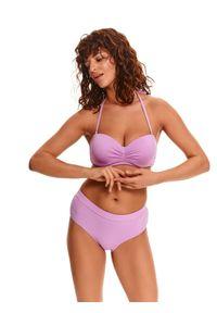 TOP SECRET - Góra od kostiumu kąpielowego. Kolor: fioletowy. Materiał: materiał
