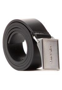 Calvin Klein - Pasek Męski CALVIN KLEIN - Pique Metal Plaque 35mm K50K506877 BAX. Kolor: czarny. Materiał: skóra
