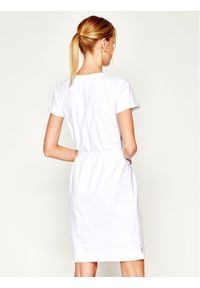Biała sukienka TOMMY HILFIGER prosta, na co dzień, casualowa