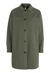 Soyaconcept Koszula Orion khaki female zielony L (42). Okazja: na co dzień. Kolor: zielony. Materiał: tkanina. Długość rękawa: długi rękaw. Długość: długie. Styl: elegancki, casual